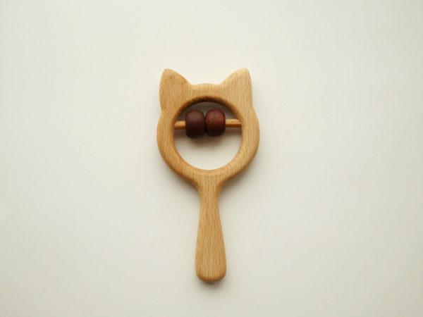 Погремушка деревянная игрушка